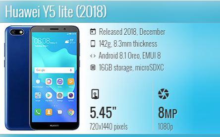 Huawei Y9 Prime 2019 specs