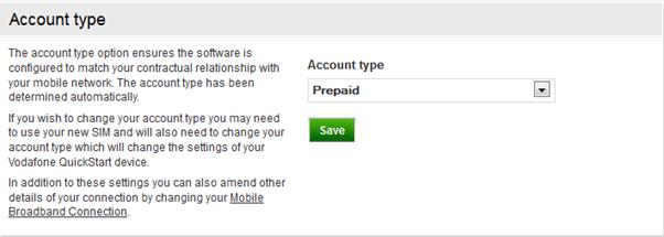 Account Type